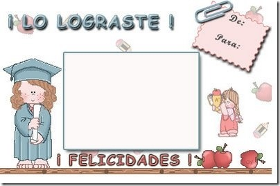 tarjeta de graduacin
