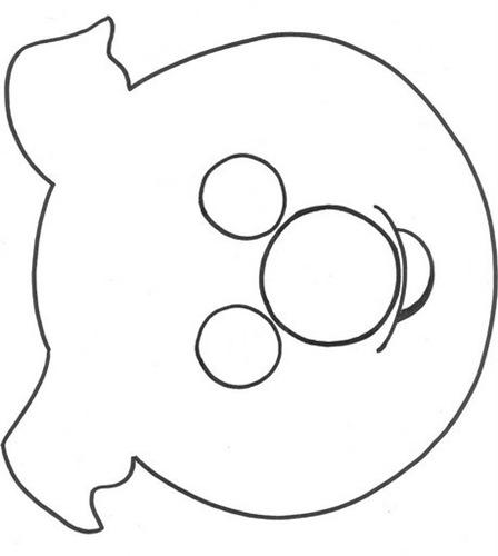 Moldes para mascaras de animales para niños - Imagui