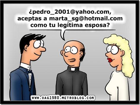 humor  bodas modernas