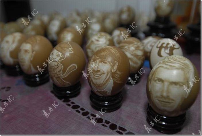 arte con huevos migallinero (1)