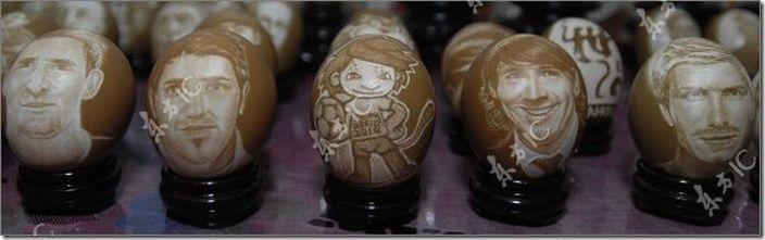 arte con huevos migallinero (2)