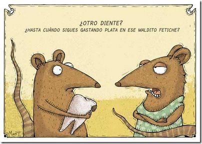 Ratones-diente