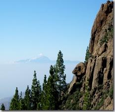 El nublo saludando al Teide