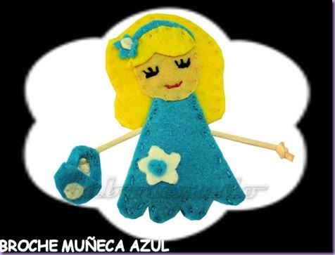 broche muñeca azul