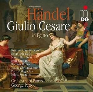 Georg Friedrich Händel: GIULIO CESARE (G. Petrou; MDG)