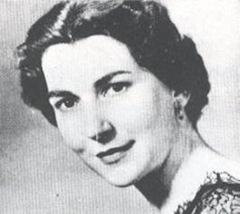 Helen Watts, CBE, Welsh contralto (1927 - 2009)