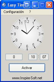 alarma en windows