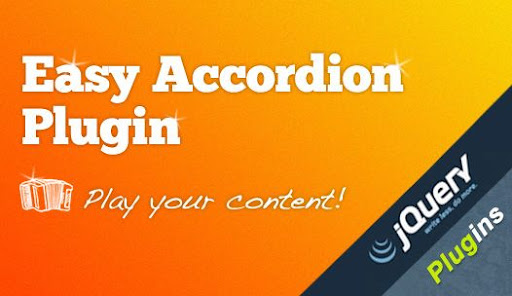 easy accordion jquery