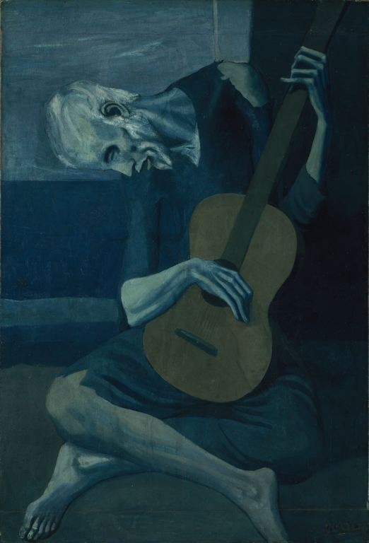 The_Old_Guitarist_by_Pablo_Picasso