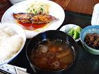 【渋谷ランチ】鰤の照り焼き定食(ほの字)