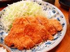 【渋谷ランチ】とんかつ定食(蓬莱亭)