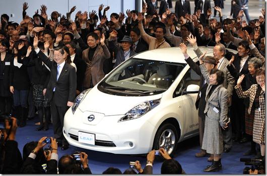 JAPAN-AUTO-COMPANY-NISSAN-ENVIRONMENT