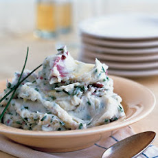 Chive and Garlic Mashed Potatoes