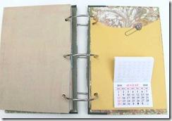 aawa journal calendar page