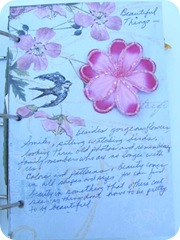 journal beautiful things page