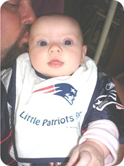Bella the Patriot fan 9.26.10