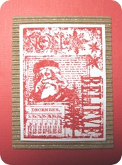 Christmas card believe santa