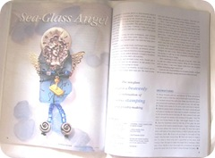 Expressions mag. seaglass angel article
