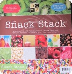 scrapbook paper snack pack