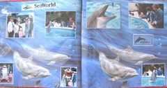 1986 Florida Sea world double page