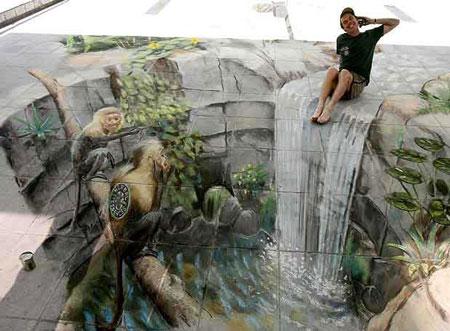 Reza Prasetya 3d Graffiti Keren Abiz