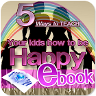 Teach your child to be happy icon