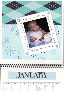 January with Picture