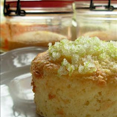 Lime-Almond Cakes in Jars