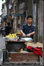 Moving Street Vendor - Changsha, Hunan, China