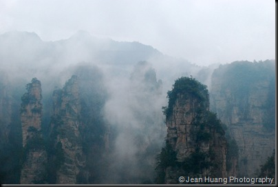 Are These the Floating Hallelujah Mountains - Zhangjiajie, Hunan Province, China