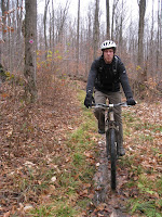 Cory working the singlespeed
