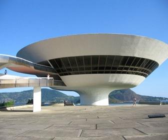 brasil museo artec ontemporaneo de niteroi rio de janeiro