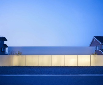 Shinichi Ogawa and Associates vivienda japon sin muros ni puerta, fachada,.