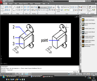 autocad 3D - Comando point