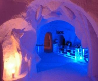 iglus hotel de hielo