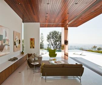 Fachadas de cristal y acero por estudio assembledge - Casas de lujo modernas ...