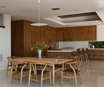 Fachadas de cristal y acero por estudio assembledge for Lujo interiores minimalistas