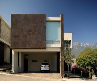 Planos de casas modernas conjunto residencial por glr for Fachadas de casas contemporaneas modernas