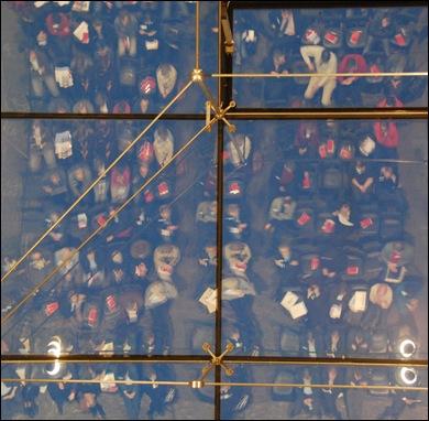 Dit symposium had zijn eigen glazen plafond.