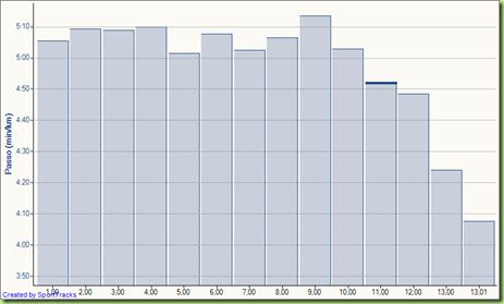Corsa Fondo lento progressivo 22-02-2010, Passo