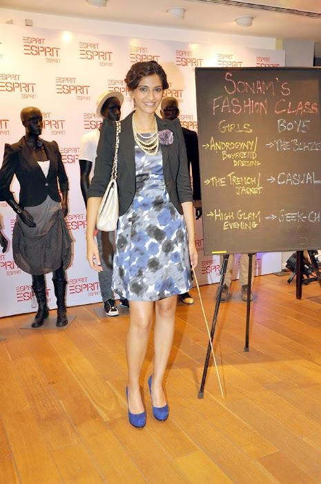 sonam kapoor launch esprit store photo gallery