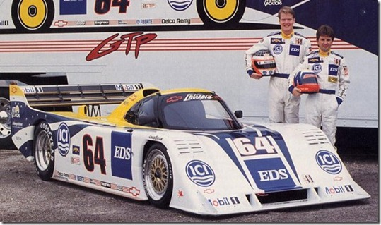Pratt and Miller Chevy Intrepid, T Kendall, W Taylor, 1991