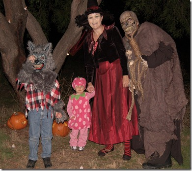 LaFlamme Scary Family 2010