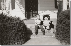 BTG and teddy bear 1953