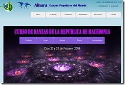 curso de danzas de la republica de macedonia