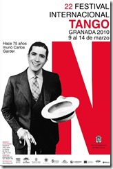 festival tango granada Cartel2010