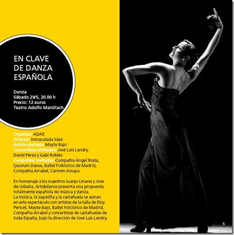 en clave de danza española