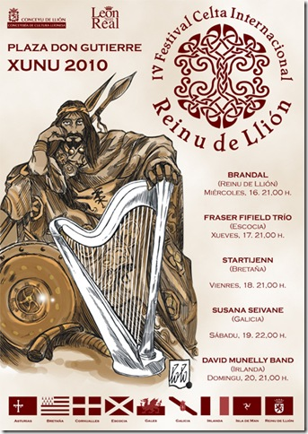 IV festival celta Reinu de llión 2010