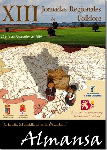 XIII jornadas regionales de folklore de almansa