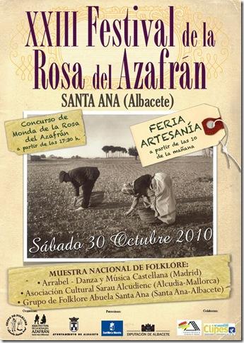 XXIII festival de la rosa del Azafrán de Santa Ana